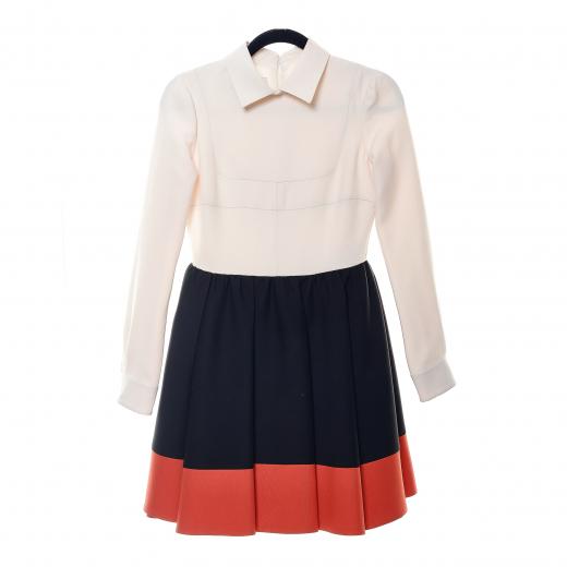 Tri-Color Dress