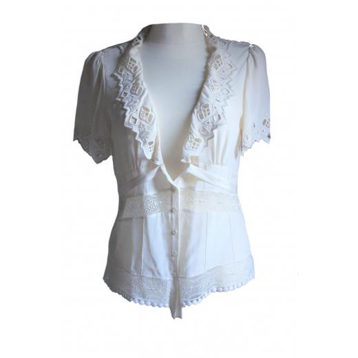 Jedwabna bluzka Barbara Bui