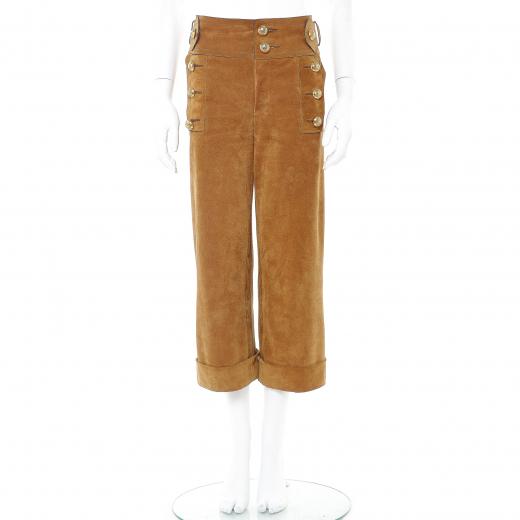 Spodnie zamszowe