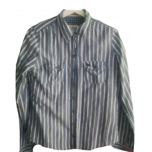 Koszula w paski Abercrombie & Fitch rozmiar L