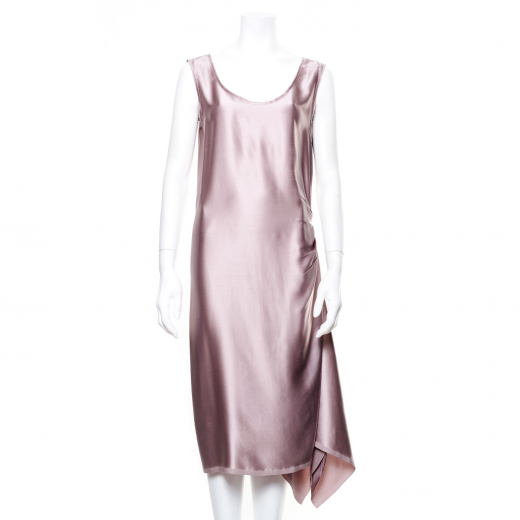 suknia satynowa