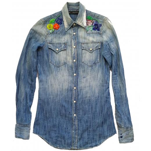 Dsquared 2 koszula jeans