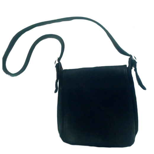 Czarna skórzana torba COACH