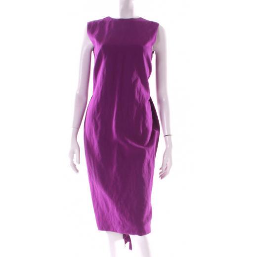 Lanvin sukienka fioletowa