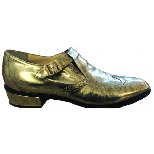 Złote buty Jimmy Choo