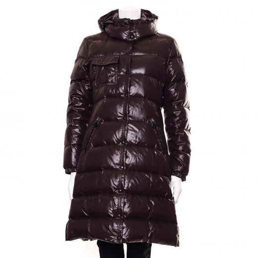 Moncler puchowy płaszcz