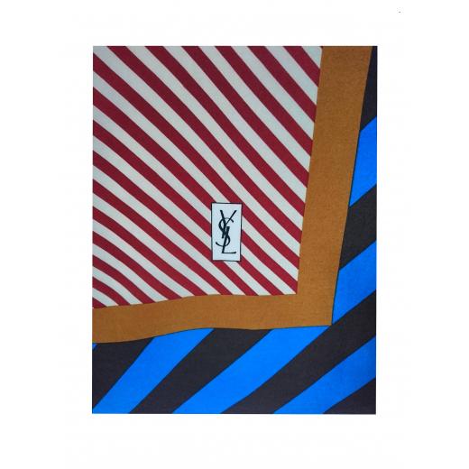 Chusta apaszka Yves Saint Laurent