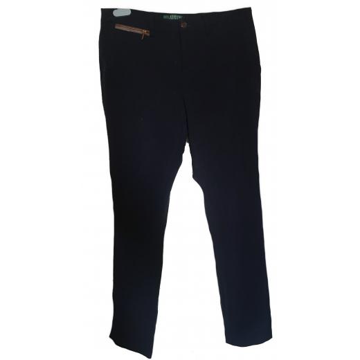 Granatowe spodnie Lauren Ralph Lauren