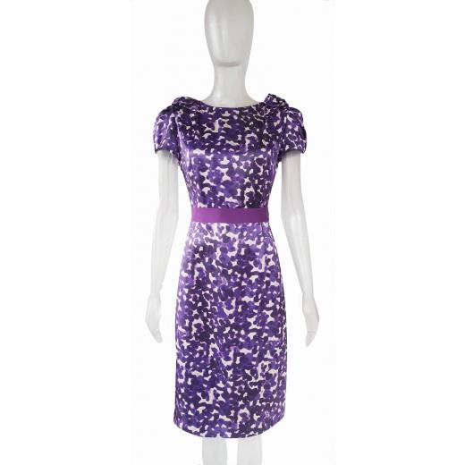 Jedwabna sukienka Carolina Herrera 36
