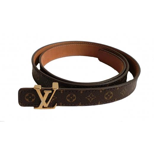 Louis Vuitton pasek skóra naturalna 80