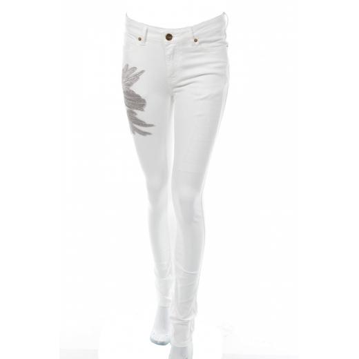 LIEBESKIND Berlin - białe jeansy