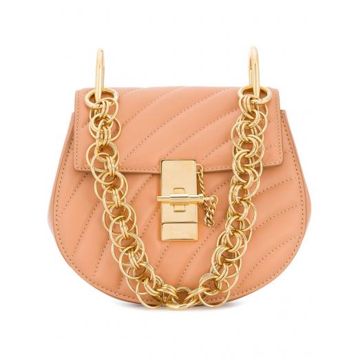 Chloe Drew Bijou NANO Bag Blushy Pink/gold