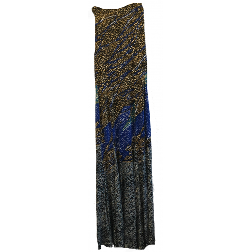 Letnia sukienka z szalem