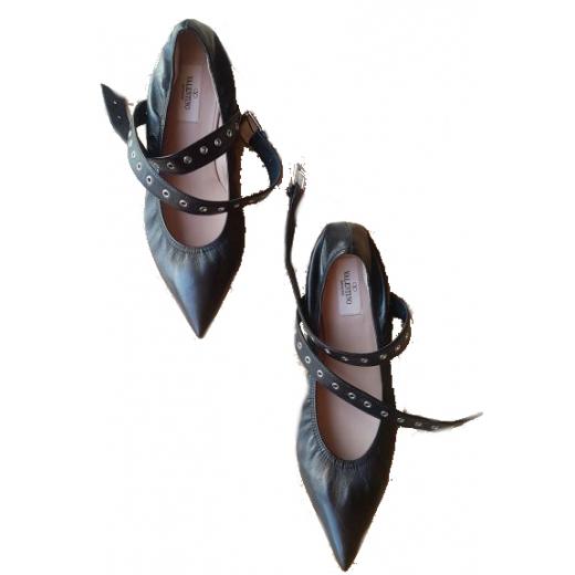 Valentino Garavani Love Latch  Ankle-Wrap Flat