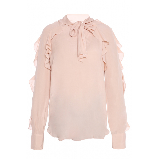 See by Chloé Rufled Top, nowa XS-S