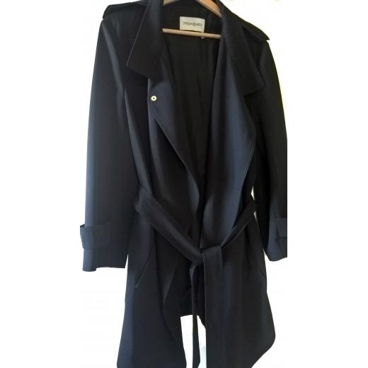 Płaszcz trencz YSL Yves Saint Laurent