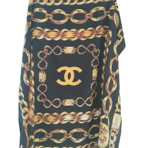 Apaszka jedwabna Chanel