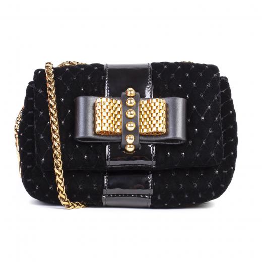 Torebka Sweet charity velvet handbag