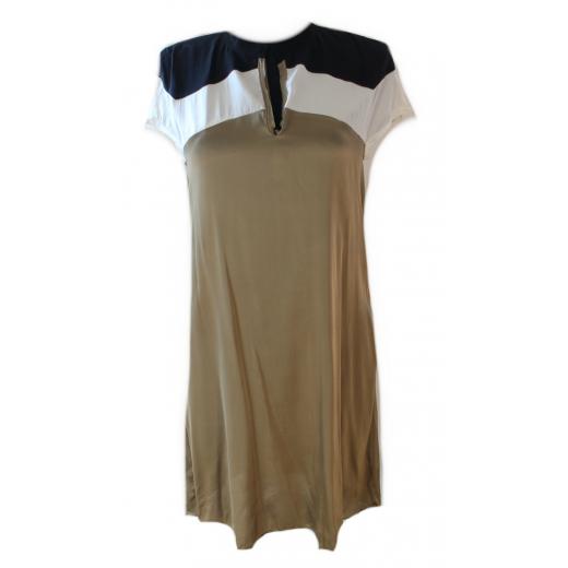 100% jedwab sukienka S