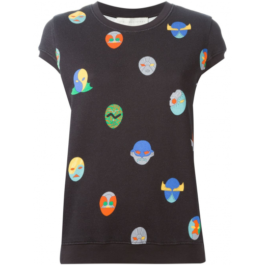 Stella McCartney top czarny