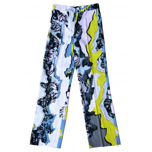 Spodnie z Runway Versace Show