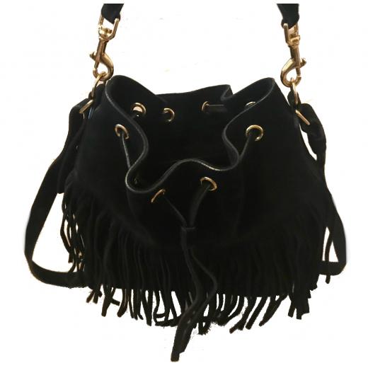 Saint Laurent Emmanuelle Bucket Bag Large