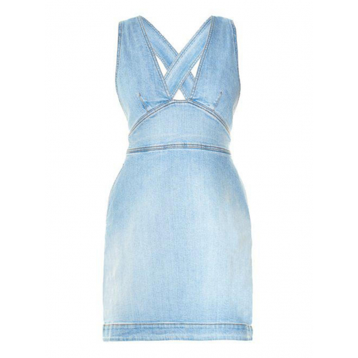 Stella McCartney Blue Anne Cross-back Denim 38-40