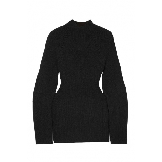 Chloé Cutout ribbed-knit sweater, nowy XS-S