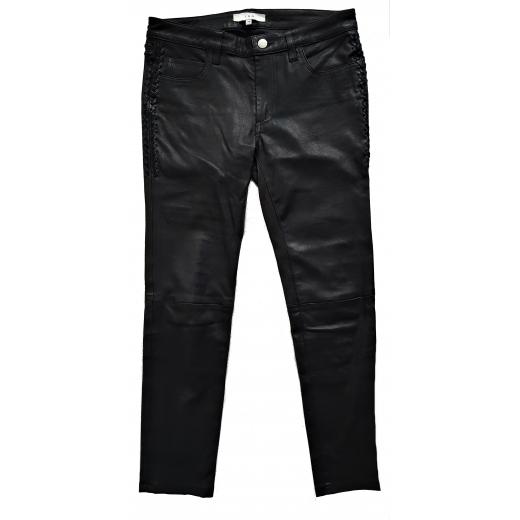 IRO spodnie skóra naturalna 34/36