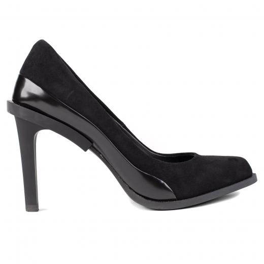 Buty na obcasie DKNY
