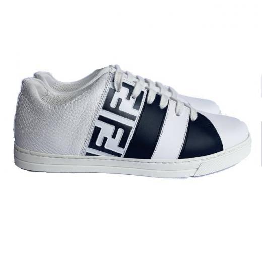 FENDI – skórzane sportowe buty