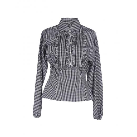 Dolce & Gabbana Black Stripe Blouse, nowa XS-S