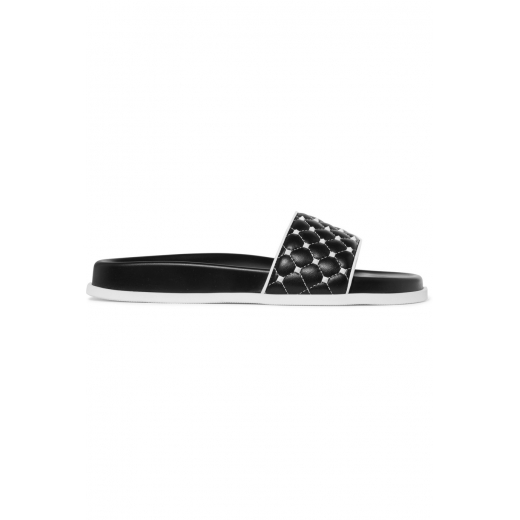 Valentino Garavani The Rockstud Spike quilted slides