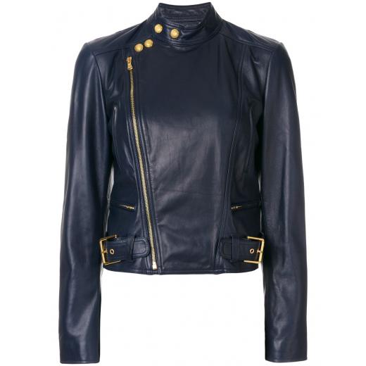 Polo Ralph Lauren blue biker jacket M