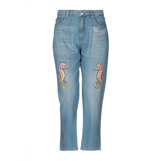 Love Moschino Boy-Fit Jeans Light Blue nowe 28