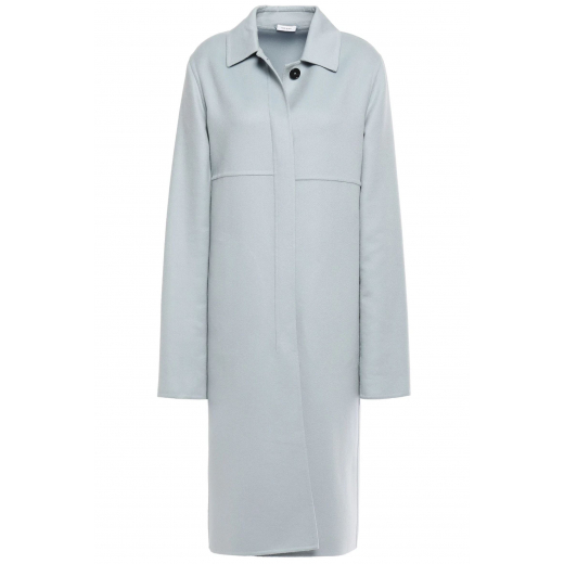 JIL SANDER Cashmere felt coat nowy