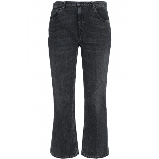 ALEXANDER WANG Cropped mid-rise bootcut jeans 27
