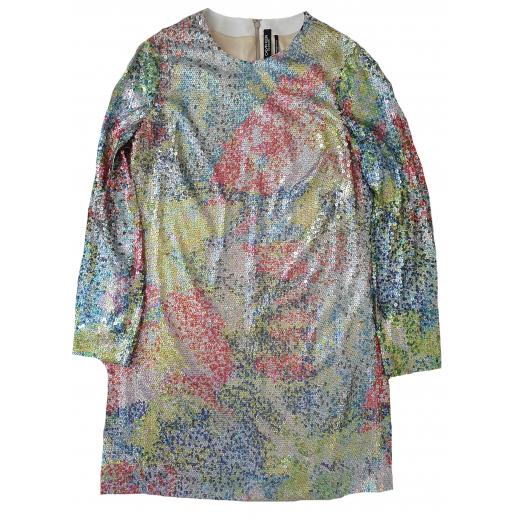 Calvin Klein 205W39NYC Sukienka Silver Rainbow 36/38
