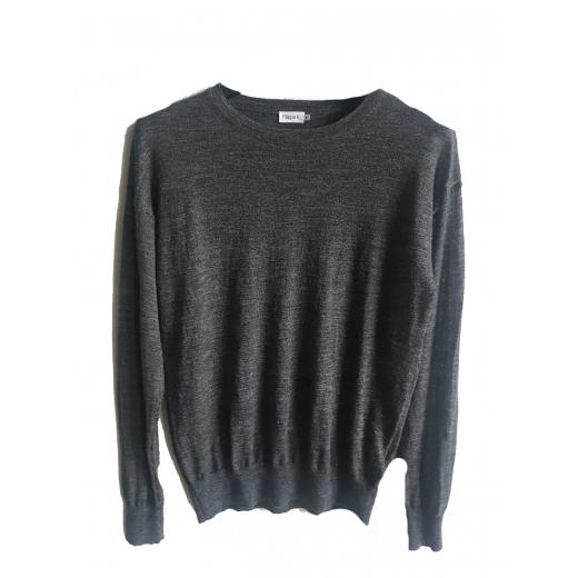 Filippa K Sheer Knit Pullover cieniutki