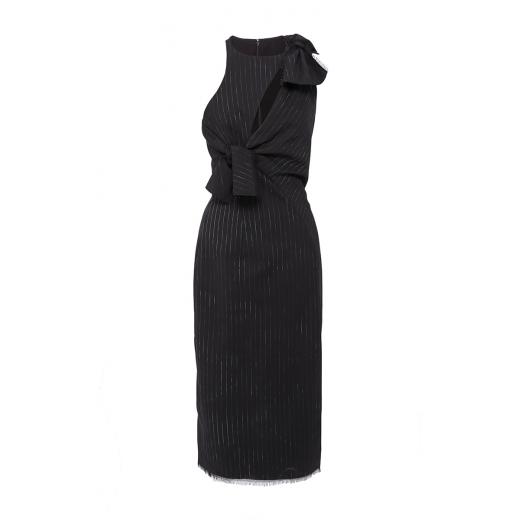 Versace asymetryczna sukienka z węzłem, nowa