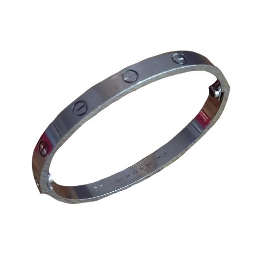 Cartier bransoletka Love bracelet, 18K white gold