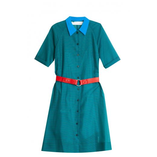 Victoria Beckham A-line Shirt Dress - Lush 36/38