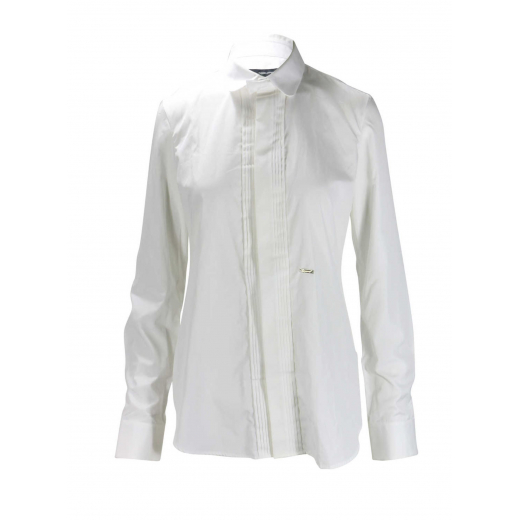 Dsquared 2 koszula biała, taliowana bawełna 34-36
