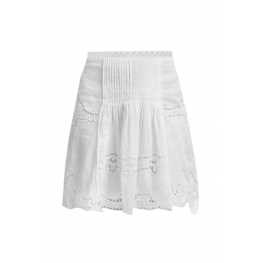 ISABEL MARANT Marion Broderie Anglaise Ramie Mini
