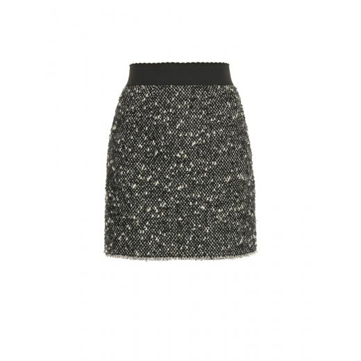 Dolce & Gabbana spódnica szary melanż nowa 40
