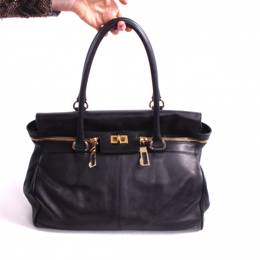 MaxMara czarna torba