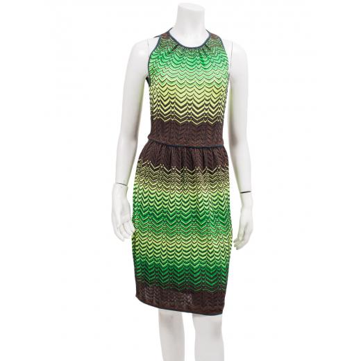 Missoni sukienka zielona