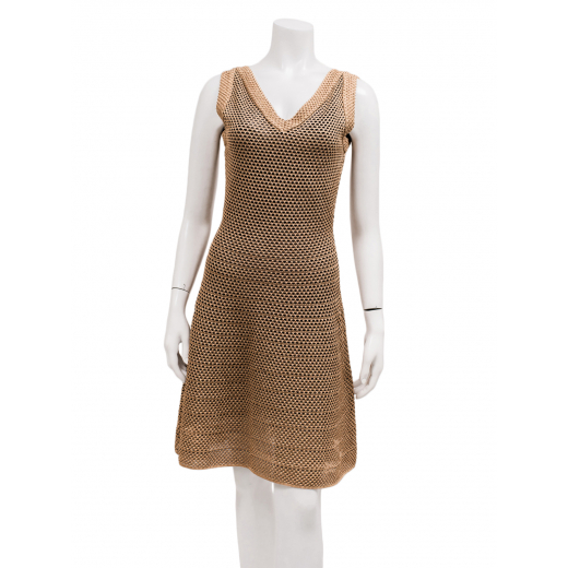 Missoni złota sukienka