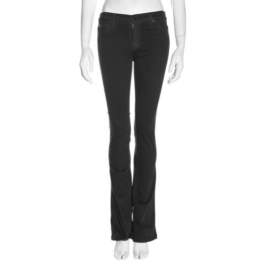 Czarne jeansy Hudson