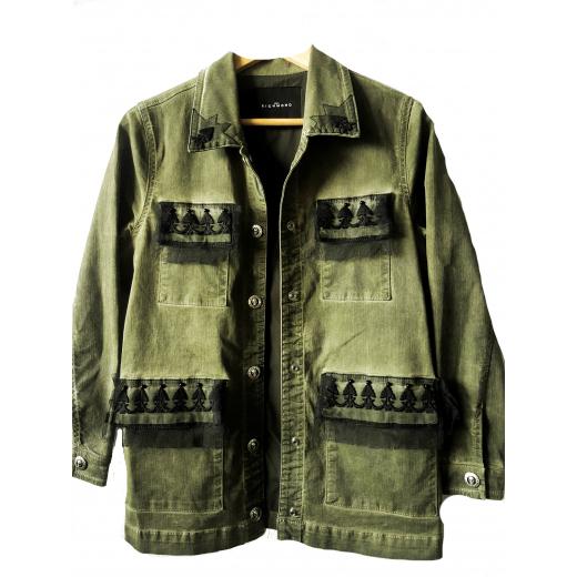 John Richmond Army Green jakcet